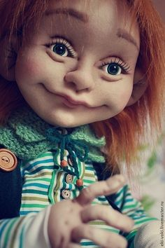 Купить или заказать Текстильная кукла Яшенька в интернет-магазине на Ярмарке Мастеров. Яшенька был создан для удивительной женщины Натальи! Рост куколки 85 м. Внутри проволочный каркас. Яшенька мягкий и легкий. Выполнен с большой любовью! В нем заложена энергия любви и добра. Его глазки полны нежности, его улыбка мечтательна и романтична! Яшенька светлый и искренний. Все получилось именно так, потому как с заказчиком было очень легко общаться!