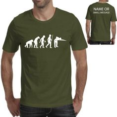 Evolution of Pool Player Table Funny Tee Printed Gift T-Shirt Funny Tees, Funny Tshirts, Beer Funny, Gymnastics Funny, Volleyball Funny, Basketball Funny, Evolution T Shirt, Funny Prints, Dog Shirt