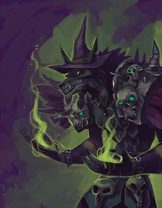 Warlock by Drkav wolf humanoid worgen shaman necro character portrait World Of Warcraft Game, World Of Warcraft Characters, Warcraft Art, Fantasy Characters, Witch Characters, Of Wolf And Man, Character Art, Character Design, Beast