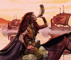 Boudicca, Celtic Warrior Queen of the Iceni. AD 60 or was queen of the British Iceni tribe, a Celtic tribe who led an uprising against the occupying forces of the Roman Empire. Warrior Princess, Warrior Queen, Viking Warrior, Viking Queen, Irish Warrior, Woman Warrior, Vikings, Fantasy Warrior, Fantasy Art