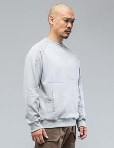 ACRONYM S14-BR Cotton Crewneck Sweatshirt | HBX.