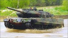 Leopard 2: German Main Battle Tank.