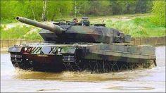 Leopard 2: German Main Battle Tank.