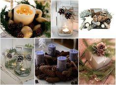 подсвечники из шишек, новый год, украшения и новогодний декор из шишек своими…