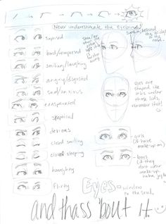 I love eyes. The reason I love drawing them is because every time, it's different. Shapes, colors. They tell stories. Beautiful ones. They tell what you feel like. They are the gateway to the soul. They have so much detail in them. I love drawing eyes. ~Alex