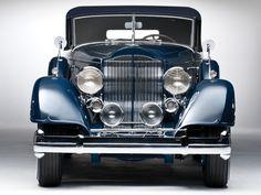 1934 Packard Twelve Convertible Victoria Dietrich