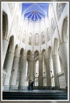 Huwelijk in de Martinikerk Groningen  #trouwen #wedding