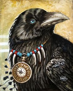 "Crows Ravens:  #Crow ~ ""Plume Noire,"" by Sophie Wilkins."