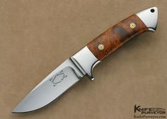 Who are the top custom fixed blade hunting knife makers in the world (USING KNIVES) - Page 2