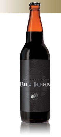 Goose Island Big John - Brewer's Notes: Inspired by the epic skyline of Chicago, Goose Island's brewers set out to craft Big John; a tall, bold slugger of a stout that stands out vividly against the little soft beers out there.