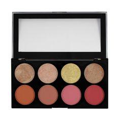 Makeup Revolution Paletka 8 tvářenek Blush Goddess