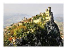 le rocher de San Marino