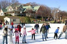 Quiet Waters Park Ice Rink & Glen Burnie Towne Center both offer outdoor seasonal skating.  Piney Orchard and the US Naval Academy have indoor rinks.  When was the last time you went skating?