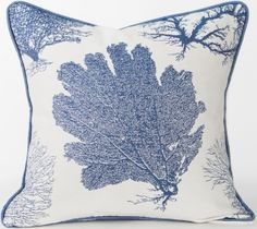 Karen Robertson Pillows | Aquatic - Royalty Indoor Outdoor Pillow