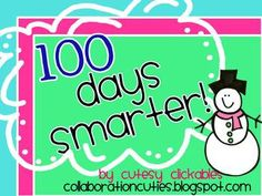 Happy 100th day of school! Cut out this banner and hang in your classroom to celebrate! This download is in color and black and white. Please become a fan of our store to get notified of updates, new products, and freebies!Also, check out our blog at collaborationcuties.blogspot.comThanks!