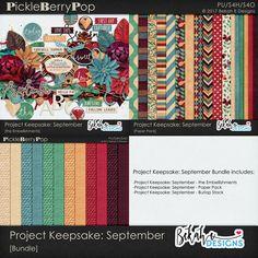 Project Keepsake: September - Bundle