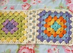 granny square joining tutorial - this is the best i have found.