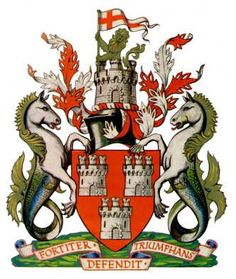 Heraldry of the World Civic heraldry of the United Kingdom NEWCASTLE UPON TYNE Additions: 1974 Castle Ward (partly); Gosforth Urban Distri...