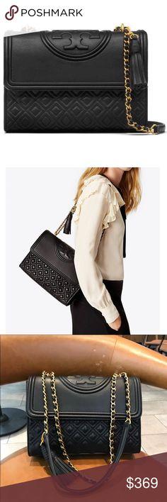 27a32b72752f 👠NEW Tory Burch Fleming Convertible Shoulder Bag