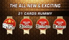 The All New #21 Card #Rummy is coming your way soon.Stay tuned:  www.adda52rummy.com
