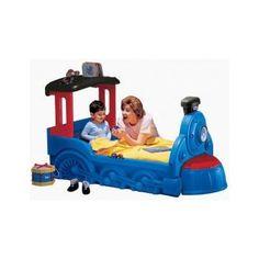 Pat locomotiva choo choo little tikes pentru copii Little Tikes, Toddler Bed, Little Tykes, Child Bed