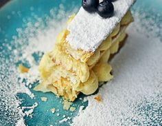 Francuska słodycz Millefeuille Cookie Monster, Cookies, Ethnic Recipes, Food, Crack Crackers, Biscuits, Essen, Meals, Cookie Recipes