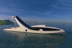 Chemtrails over Shaddai Yacht Study, Italy