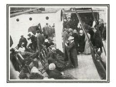 Supervivientes del Titanic a bordo del Carpathia