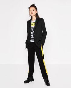 Image 1 of SPORTY MASCULINE BLAZER from Zara