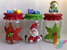 biscuit natal -polymer clay