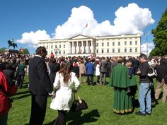 Many people celebrate the Royal family on May 17th.