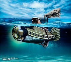 Steampunk: Ocean Craft! - Worth1000 Contests