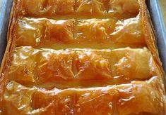 Screen Shot at Greek Sweets, Greek Desserts, Greek Recipes, Greek Pastries, Greek Cooking, Sweet And Salty, Creative Cakes, Hot Dog Buns, Dessert Recipes
