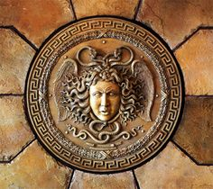 Greek mythology, Medusa,  whose gaze could turn people to stone..
