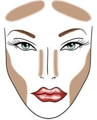 Get sculpted cheeks and glowing skin with these contouring and highlighting tips! #countouring