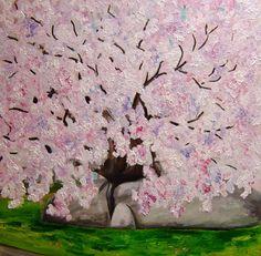 Rose Bloesem origineel olieverf schilderij 1 x door NancyvandenBoom, €800.00