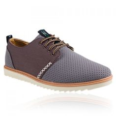Fashion Carving and Lace-Up Design Casual Shoes For Men, GRAY, 44 in Men's Shoes | DressLily.com