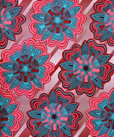 psychedelic fabric