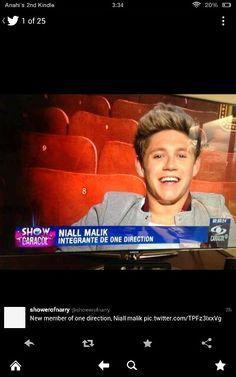 """Niall Malik"" every one."