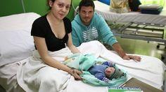 La historia de Tomás: el bebé que nació en el primer parto acuático de una maternidad pública https://link.crwd.fr/2OCh