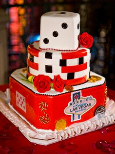 Las Vegas cake Cake ideas Pinterest Cake