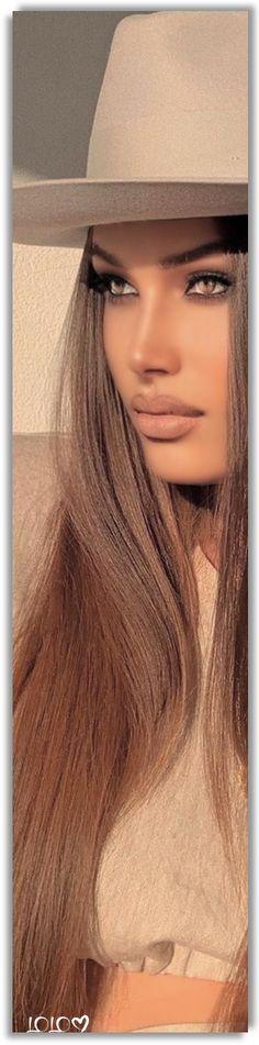 Arina Bernardini Drozdetckaia #ArinaBernardiniDrozdetckaia Unique Fashion, High Fashion, All Things Fabulous, Lip Fillers, Sunglasses Women, Beige, Long Hair Styles, Celebrities, My Style