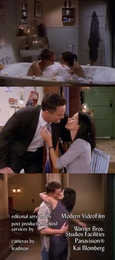 god, i love Monica and Chandler. they are so sweet together! and chandler is so hilarious. where can i get a Chandler of my own??