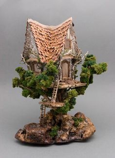 fairy treehouse 1:44 scale