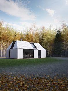 Claesson Koivisto Rune. Casa prefabricada