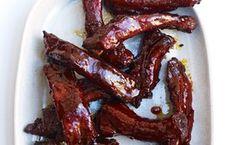 Spicy Glazed Pork Ribs