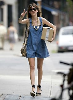 DUNGAREES - Pinafores Alexa Chung For Ag Jeans zW5VnxAH