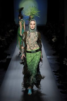 Fashion, Shopping & Style | 2010 Spring Couture: Jean Paul Gaultier | POPSUGAR Fashion