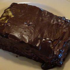 Mom's Chocolate Decadent Cake #recipe