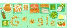 "Related news on ""Banh mi"" Vietnamese Banh Mi, Vietnamese Street Food, Vietnamese Sandwich, Banh Mi Sandwich, Baguette Sandwich, Baguette Bread, Google Doodles, Kimchi, Holiday Logo"